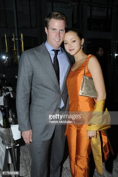 James Bailey and Devon Aoki attend Circa's Kick-off Cocktail Party for the New Yorker's For Children 2010 Fall Gala at Lincoln Restaurant on...