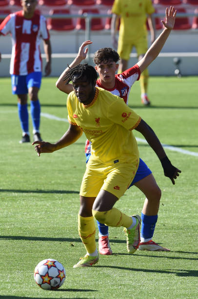 ESP: Atletico Madrid v Liverpool FC - UEFA Youth League