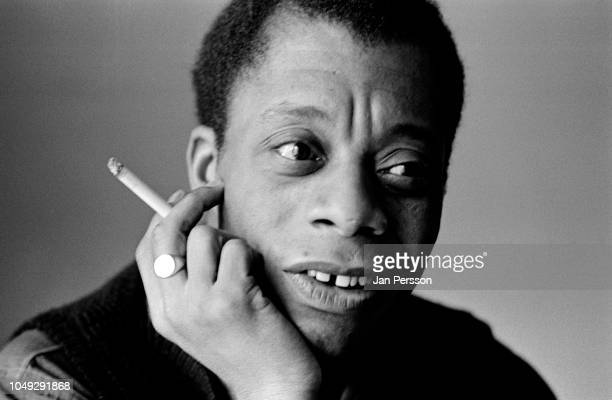 James Baldwin American novelist writer playwright poet and civil rights activist New York February 1964