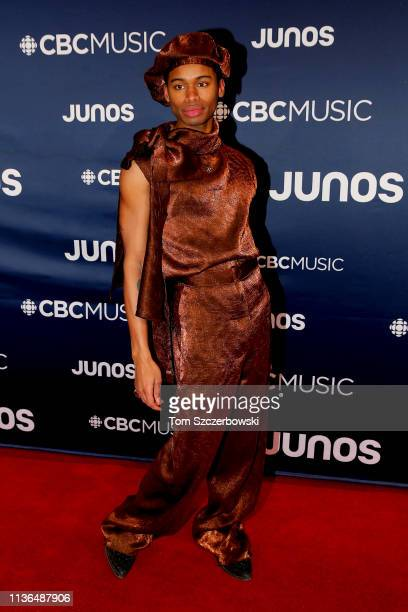 James Baley attends the 2019 Juno Awards Arrivals at Budweiser Gardens on March 17 2019 in London Canada