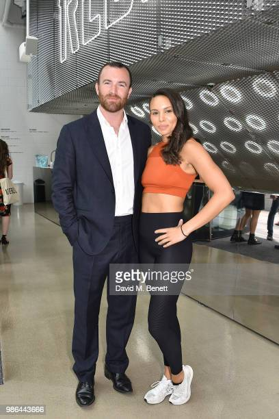 James Balfour and Louise Hazel attend The Ride Of Your Life 'Detox to Retox' Evening on June 28 2018 in London England