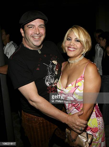 James Bartholet and Amanda Cortez during Last Chance for Animals Fundraiser at Private in Beverly Hills CA United States