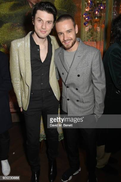 James Bay and Liam Payne attend as Tiffany Co partners with British Vogue Edward Enninful Steve McQueen Kate Moss and Naomi Campbell to celebrate...