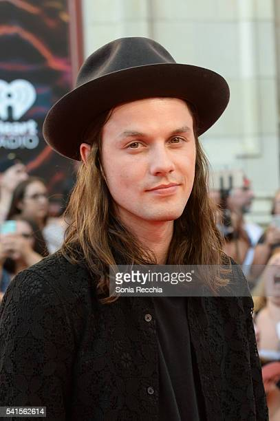 James Bay arrives at the 2016 iHeartRADIO MuchMusic Video Awards at MuchMusic HQ on June 19 2016 in Toronto Canada