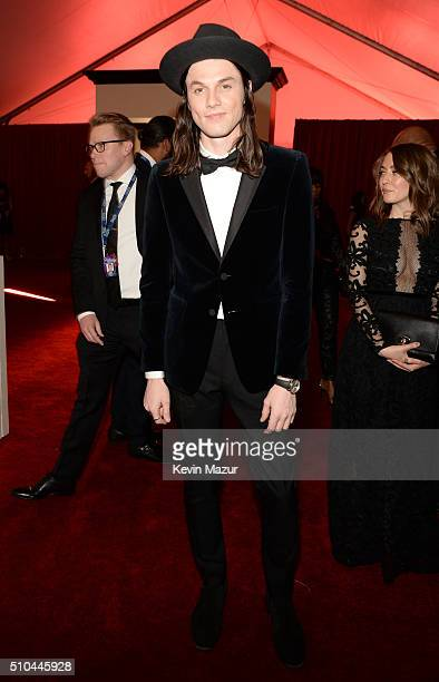 James Bay attends The 58th GRAMMY Awards at Staples Center on February 15 2016 in Los Angeles California