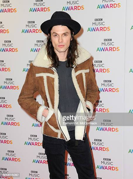 James Bay attends the BBC Music Awards at Genting Arena on December 10 2015 in Birmingham England