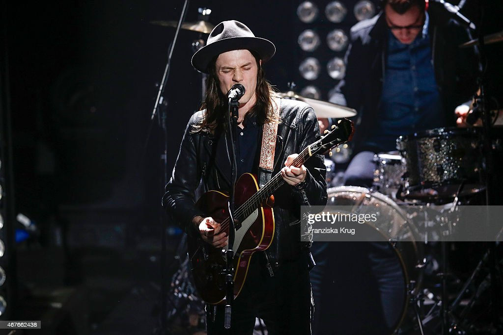 James Bay attends the Echo Award 2015 show on March 26, 2015 in Berlin, Germany.