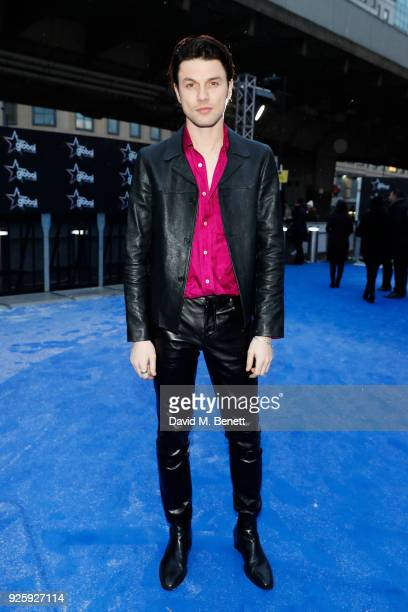 James Bay attends The Global Awards 2018 at Eventim Apollo Hammersmith on March 1 2018 in London England