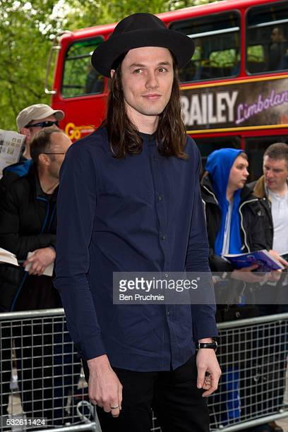 James Bay attends the Ivor Novello Awards at Grosvenor House on May 19 2016 in London England