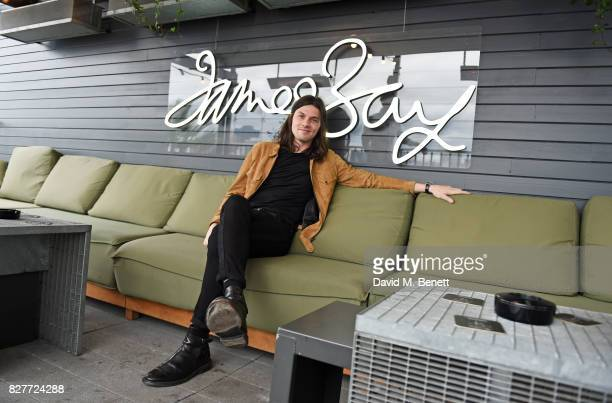 James Bay attends the launch of James Bay's new Topman collection at The Ace Hotel on August 8 2017 in London England