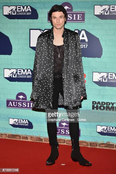 James Bay attends the MTV EMAs 2017 at The SSE Arena Wembley on November 12 2017 in London England