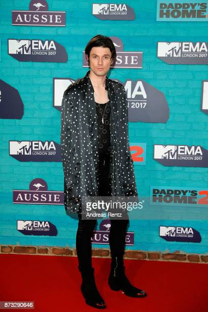 James Bay attends the MTV EMAs 2017 held at The SSE Arena Wembley on November 12 2017 in London England