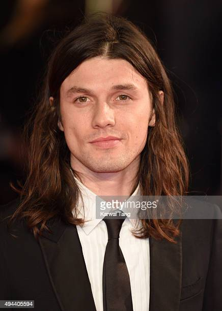 James Bay attends the Royal Film Performance of 'Spectre' at the Royal Albert Hall on October 26 2015 in London England