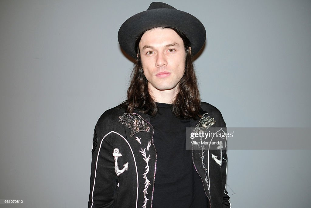 James Bay attends the Topman Design show during London Fashion Week Men's January 2017 collections at on January 6, 2017 in London, England.