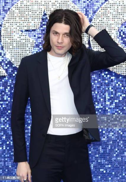James Bay attends the UK Premiere of Rocketman at the Odeon Luxe, Leicester Square.