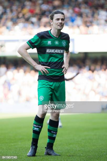 James Bay during the #GAME4GRENFELL at Loftus Road on September 2 2017 in London England The charity football match has been set up to benefit those...