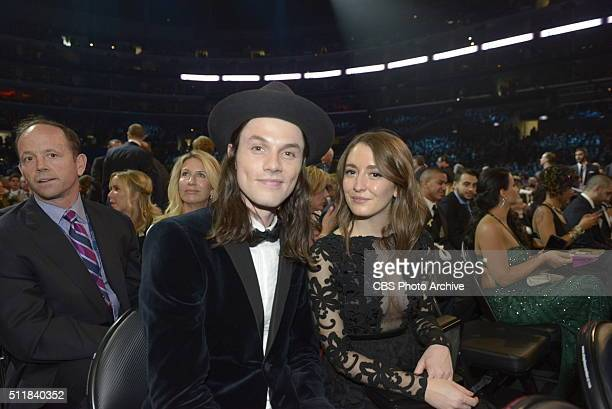 James Bay in the audience during THE 58TH ANNUAL GRAMMY AWARDS Monday Feb 15 2016 at STAPLES Center in Los Angeles and broadcast on the CBS...