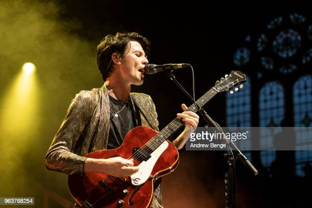 James Bay performs at Albert Hall on May 30 2018 in Manchester England