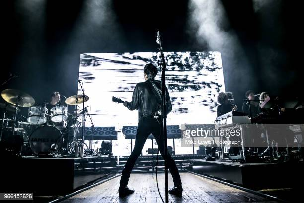 James Bay performs at Colston Hall on June 2 2018 in Bristol England