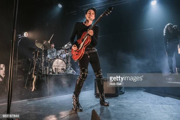 James Bay performs at Electric Brixton on March 15 2018 in London England