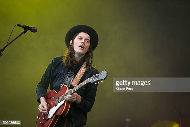 James Bay performs at Electric Picnic at Stradbally Hall Estate on September 4, 2016 in Dublin, Ireland.