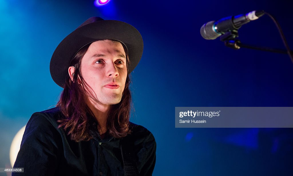 James Bay performs at KOKO on February 12, 2015 in London, England.