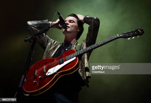 James Bay performs at the Albert Hall on May 30 2018 in Manchester England