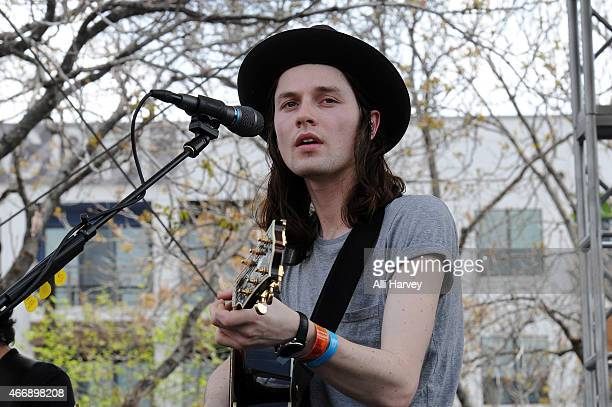 James Bay performs at the Spotify House at SXSW 2015 on March 19 2015 in Austin Texas