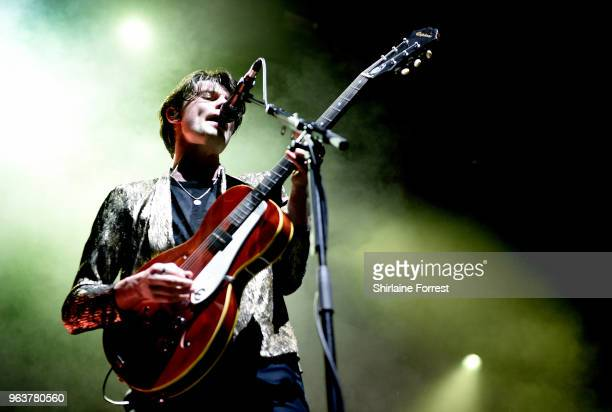 James Bay performs live on stage at Albert Hall on May 30 2018 in Manchester England