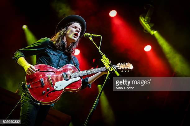 James Bay performs on Day 1 of the CityFolk Festival at Lansdowne Park on September 15 2016 in Ottawa Canada