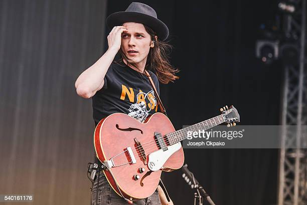 James Bay performs on Day 2 at Wildlife Festival on June 12 2016 in Brighton England