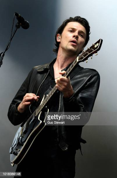 ONLY James Bay performs on the main stage at RiZE Festival on August 17 2018 in Chelmsford United Kingdom