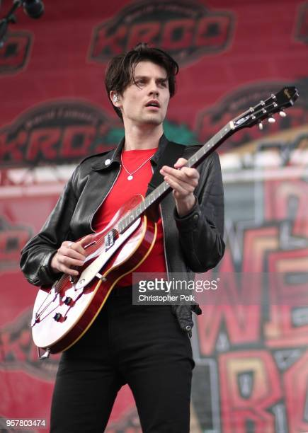 James Bay performs onstage at KROQ Weenie Roast 2018 at StubHub Center on May 12 2018 in Carson California