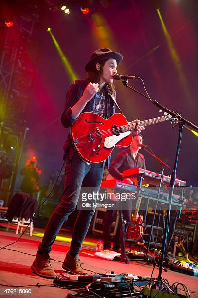 James Bay performs onstage during day 1 of Parklife 2015 at Heaton Park on June 6, 2015 in Manchester, United Kingdom
