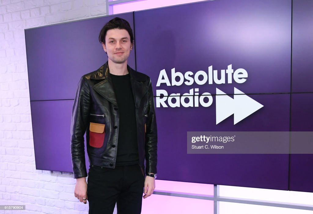 James Bay visits Absolute Radio's Studio's on February 8, 2018 in London, England.