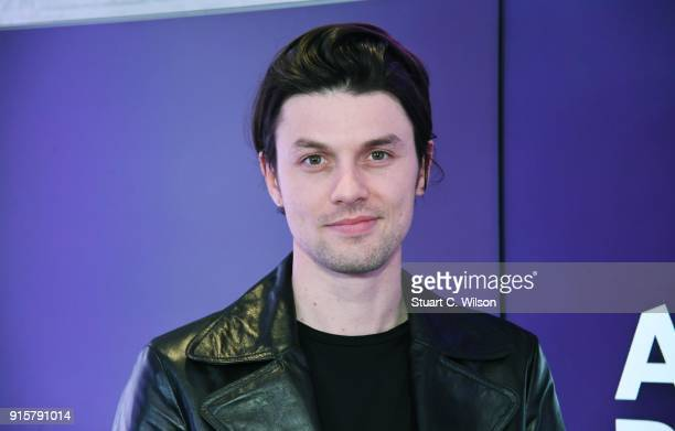 James Bay visits Absolute Radio's Studio's on February 8 2018 in London England
