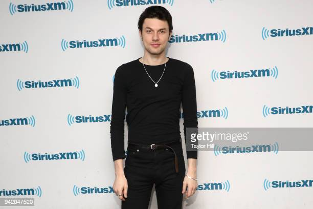 James Bay visits the SiriusXM Studios on April 4 2018 in New York City
