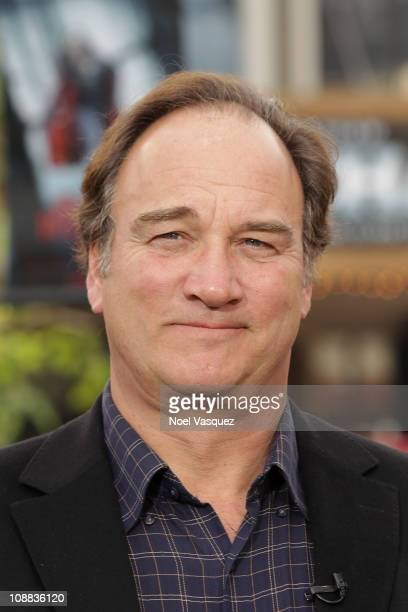 James Belushi visits Extra at The Grove on February 4 2011 in Los Angeles California