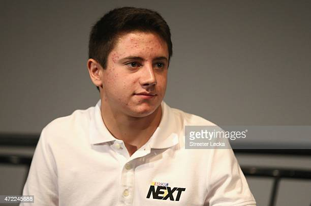 James Bickford watches on as he is announced during the 20152016 NASCAR Next Class at NASCAR Hall of Fame on May 5 2015 in Charlotte North Carolina
