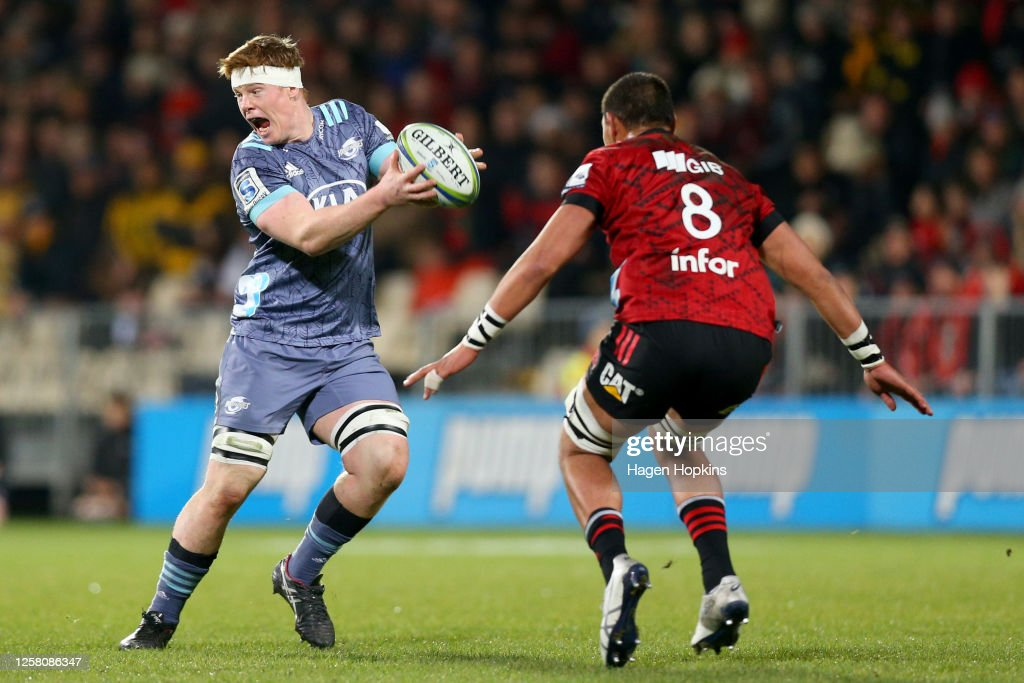 Super Rugby Aotearoa Rd 7 - Crusaders v Hurricanes : News Photo