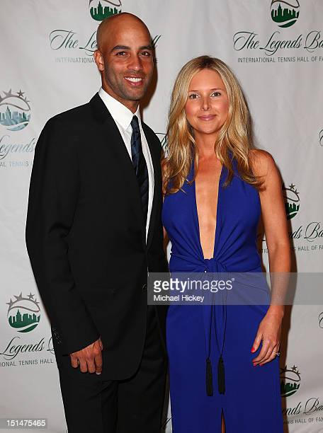 James Blake and Emily Snider attend the 2012 Legends Ball at Cipriani 42nd Street on September 7 2012 in New York City