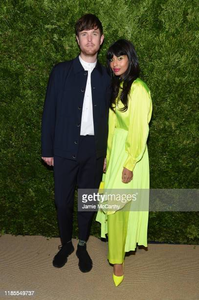 James Blake and Jameela Jamil attend the CFDA / Vogue Fashion Fund 2019 Awards at Cipriani South Street on November 04, 2019 in New York City.