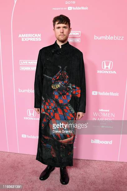 James Blake attends the 2019 Billboard Women In Music at Hollywood Palladium on December 12 2019 in Los Angeles California