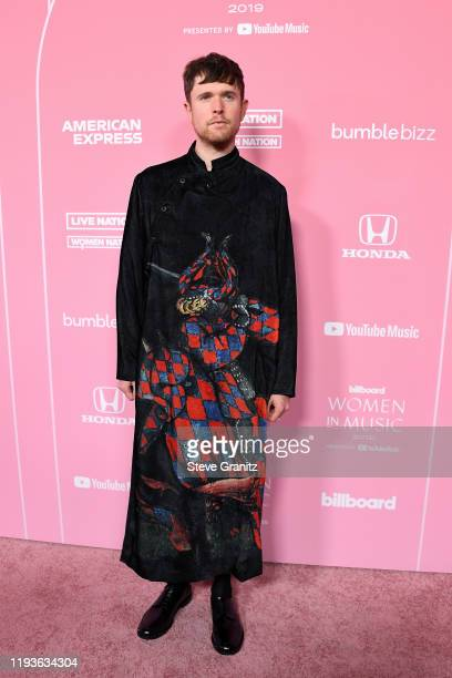 James Blake attends the 2019 Billboard Women In Music at Hollywood Palladium on December 12, 2019 in Los Angeles, California.