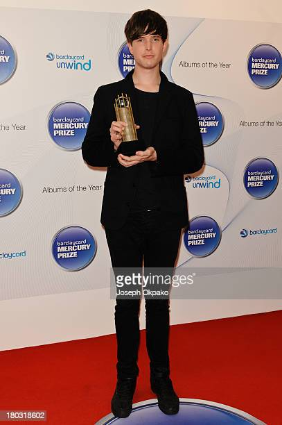 James Blake attends the announcement of the Barclaycard Mercury Prize shortlist at The Hospital Club on September 11 2013 in London England