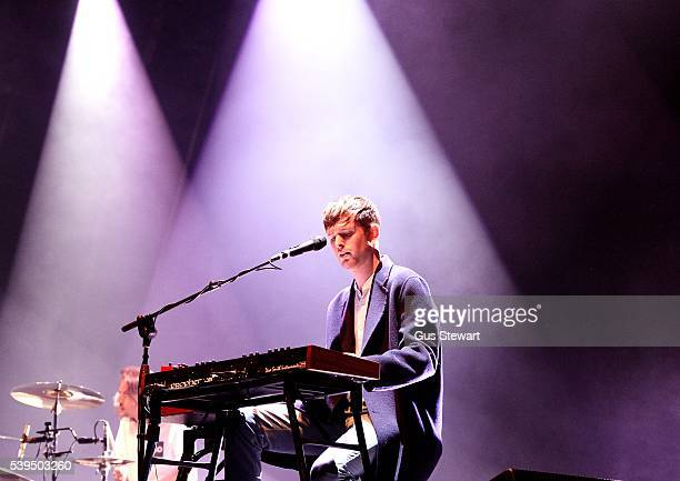 James Blake headlines the Field DayEat Your Own Ears stage in Victoria Park on June 11 2016 in London England