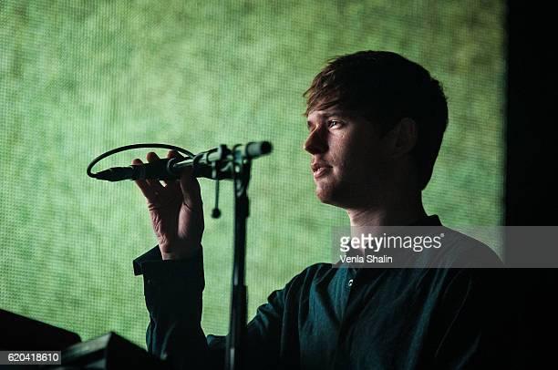 James Blake performs at Eventim Apollo on November 1 2016 in London England