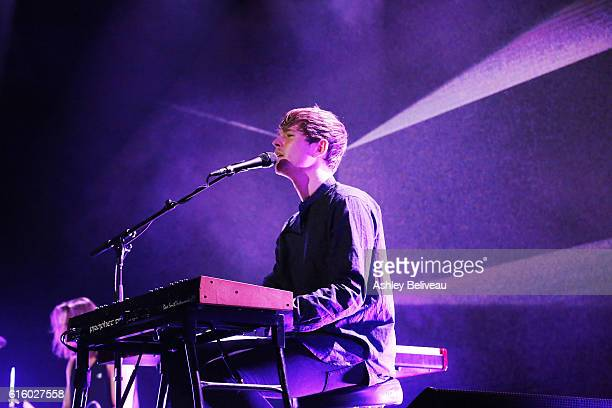 James Blake performs at the Hollywood Palladium on October 20 2016 in Los Angeles California