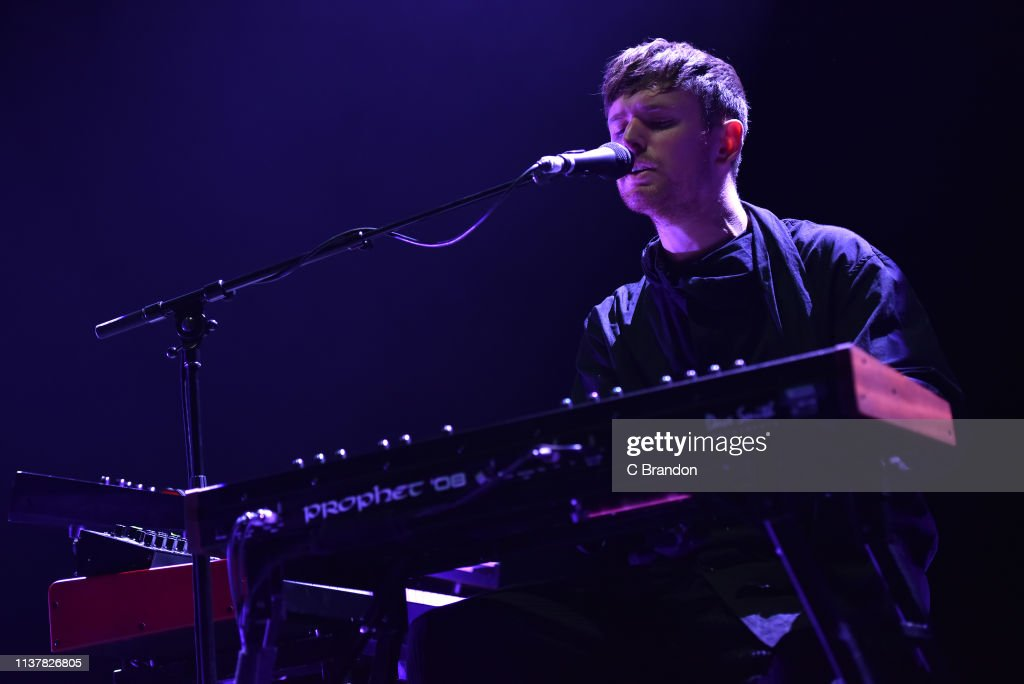 GBR: James Blake Performs At Eventim Apollo