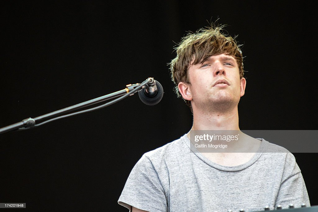 James Blake performs on stage on Day 4 of Latitude Festival 2013 at Henham Park Estate on July 21, 2013 in Southwold, England.